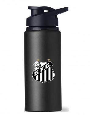Squeeze Alumínio 600ml Oficial Santos Futebol Clube