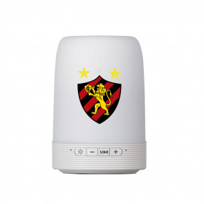 Caixa de Som Multimídia com Porta Caneta e Luminária Sport Club