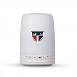 Caixa de Som Multimídia com Porta Caneta e Luminária São Paulo Futebol Clube