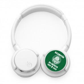 Headphone Bluetooth Oficial Palmeiras Bicampeão